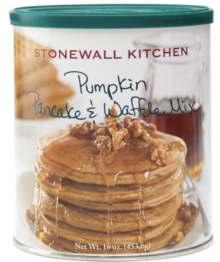 Pumpkin pancake mix.