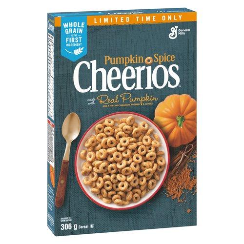 Cheerios pumpkin spice.