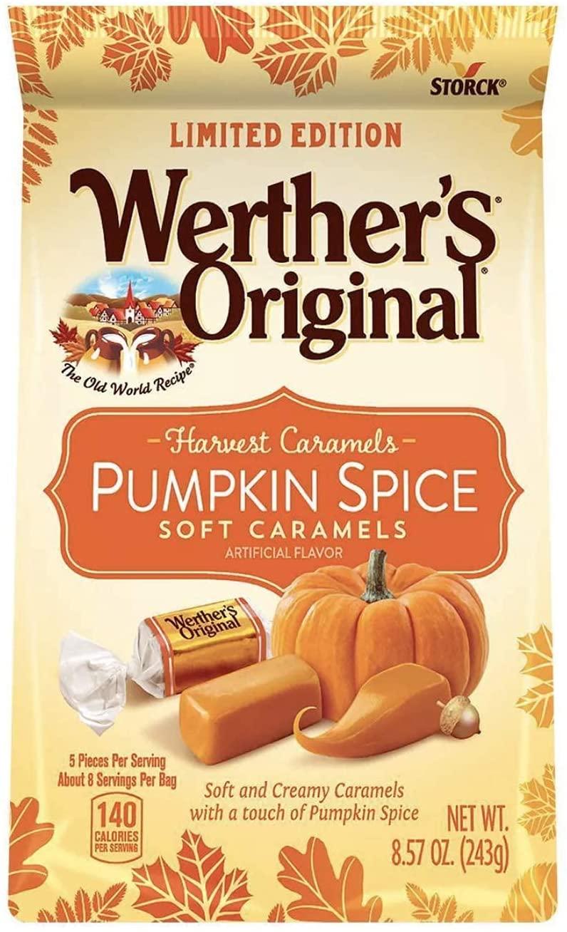 Werthers pumpkin spice.