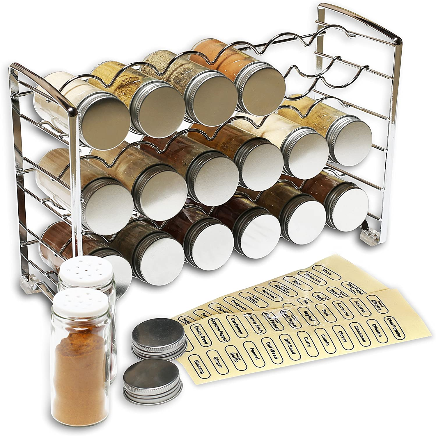 Wire spice rack.