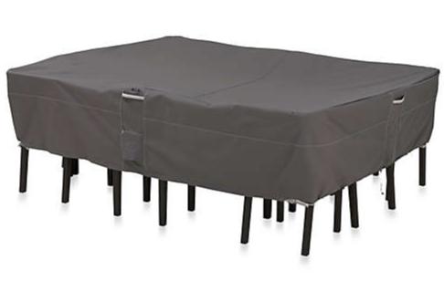 Outdoor waterproof patio table cover.