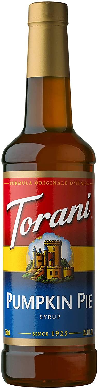 Torani pumpkin spice.
