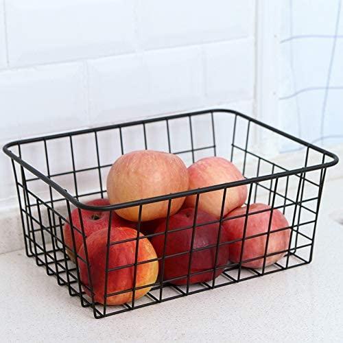 Wire basket for indoor/outdoor storage.