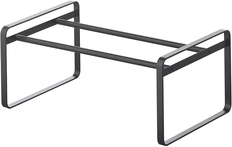Minimalist shoe rack.