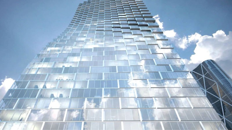 Telus Sky: only 40 per cent of the space is leased in a tower that completes in 2018. | Submitted