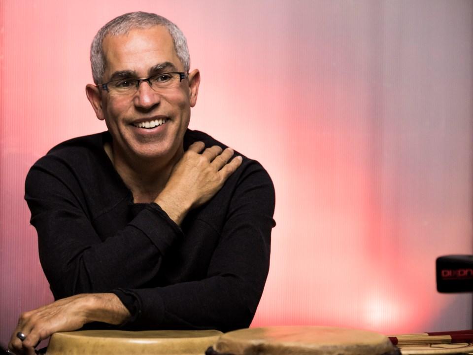 Percussionist Sal Ferreras brings Drum Heat to the Vogue Theatre, April 27.