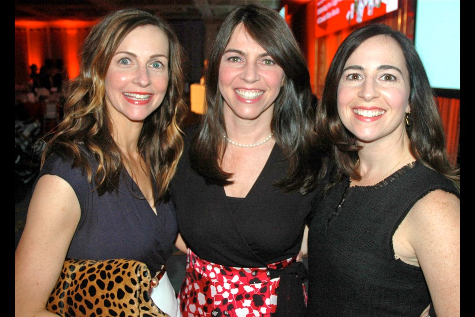 Samantha, Rebecca and Amanda Legge shared insight into running the family's publishing business at the UBC Sauder School of Business's Family Legacy Series Gala.