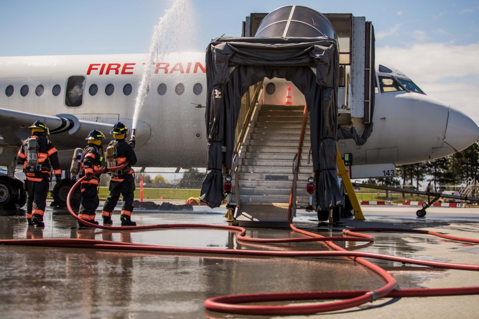YVR deals with 'bomb threat' and 'plane crash'..._4