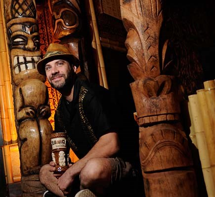 Rod Moore has spent the last few months getting the Shameful Tiki Room on Main Street ready for its close-up Friday when it officially opens.