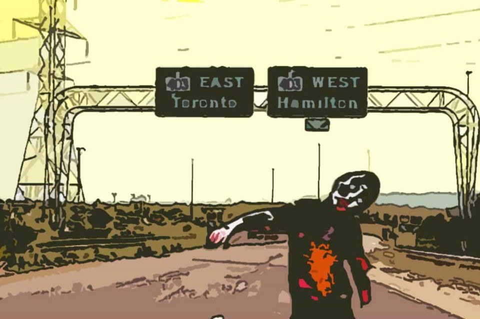 maple leaf zombies eastern canada