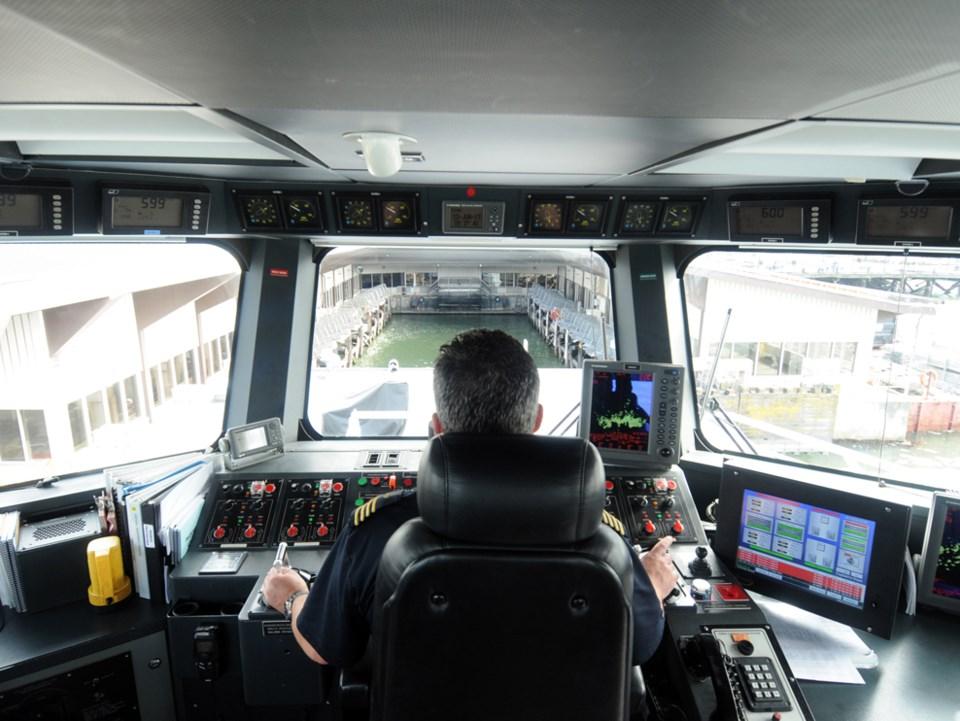 Seabus docking