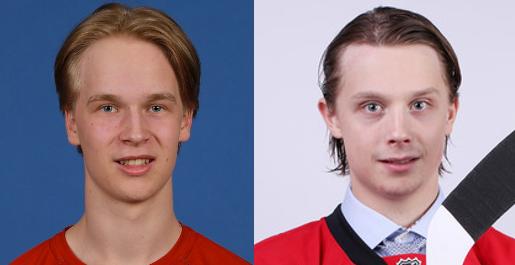 Elias Pettersson and Jonathan Dahlen look exactly alike!