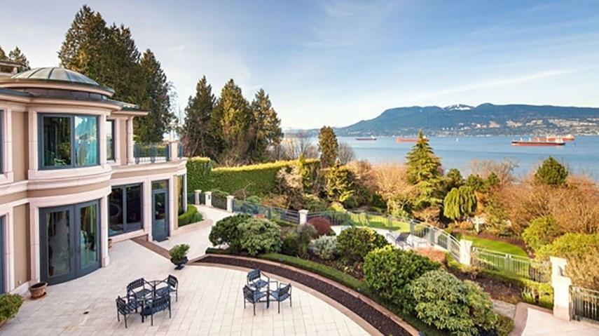 "Oceanview mansion on Point Grey's ""Billionaires' Row"" would set new record if sold at list price"