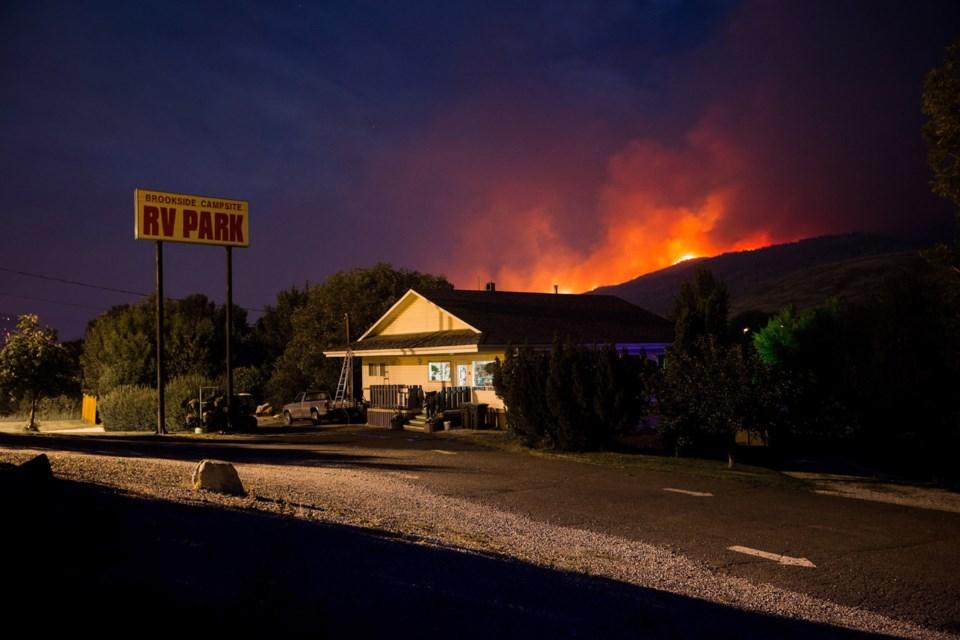 Cache Creek fire
