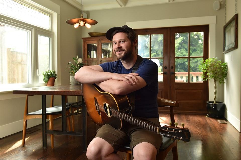 , Vancouver musician Dan Mangan