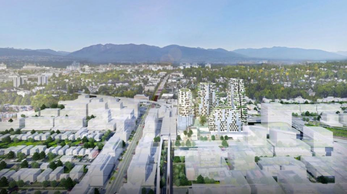 Broadway & Commercial project overview. | Westbank and Bing Thom Architects