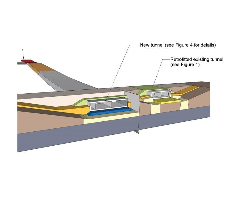 tunnel rendering