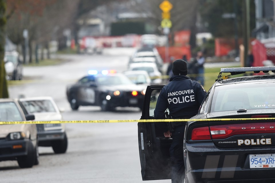 The most recent statistics from the Vancouver Police Department show response times to emergencies have increased by more than a minute since 2008. Photo Dan Toulgoet
