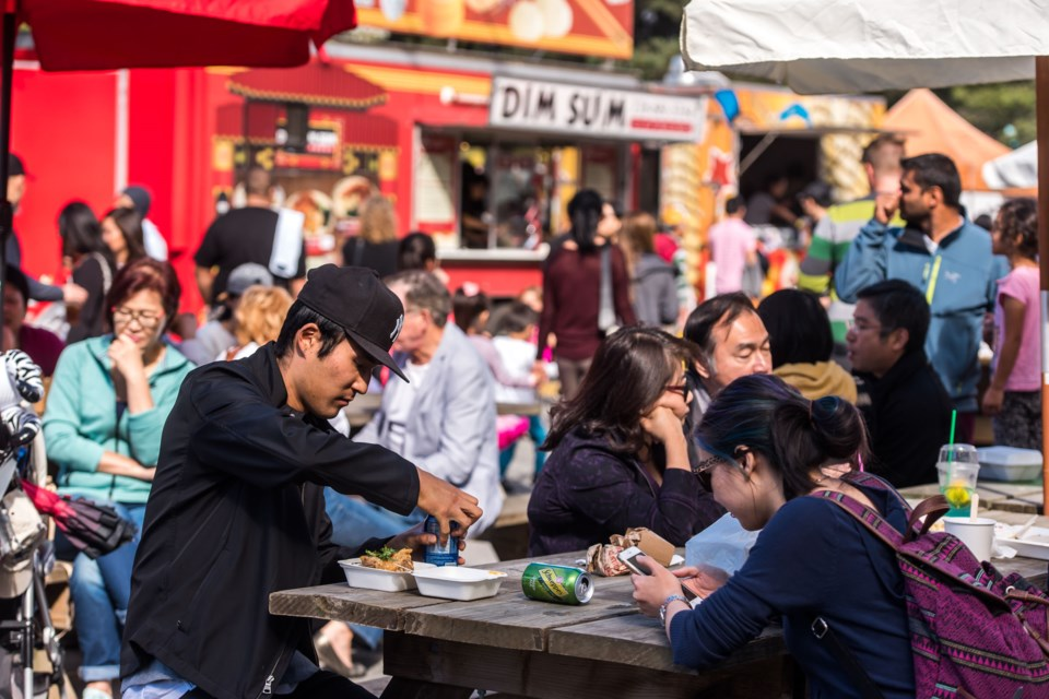 The tastes of the globe come to Minoru Park on Sept. 1-2, 2017. Photo submitted