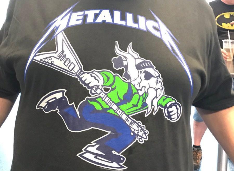 Metallica Johnny Canuck shirt
