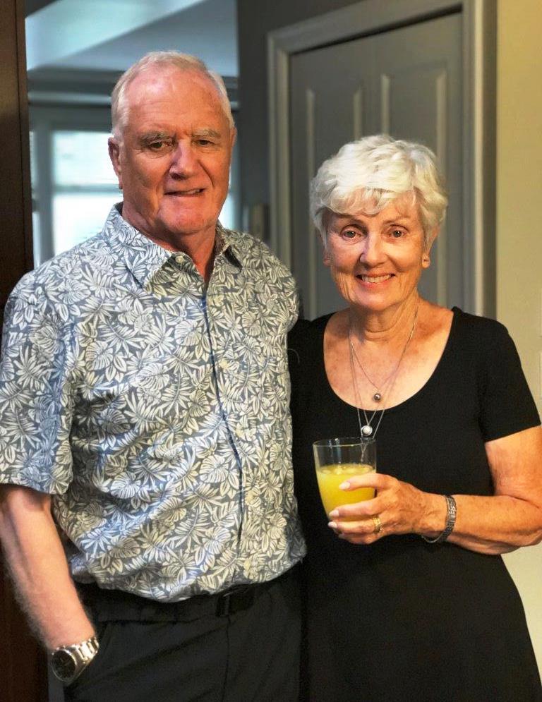 Ian and Valerie Wilson