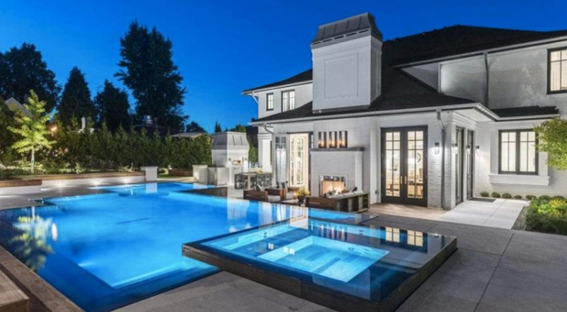 The $34.8 million home in Vancouver's ultra-exclusive First Shaughnessy area is currently the most expensive listing in Metro Vancouver.