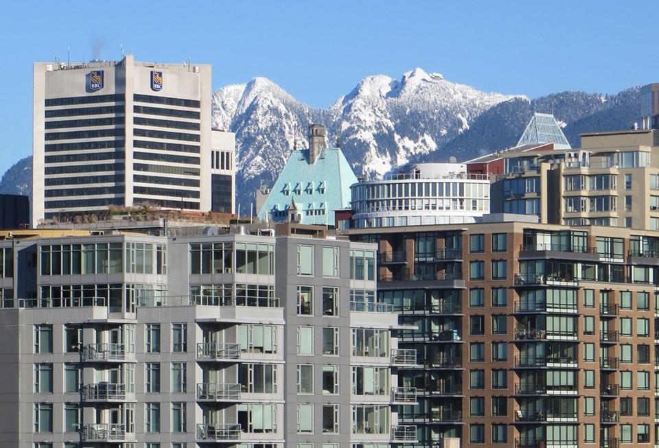 Vancouver condos mountains
