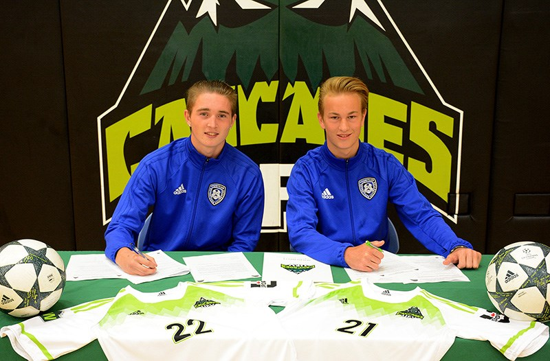 Soccer signing