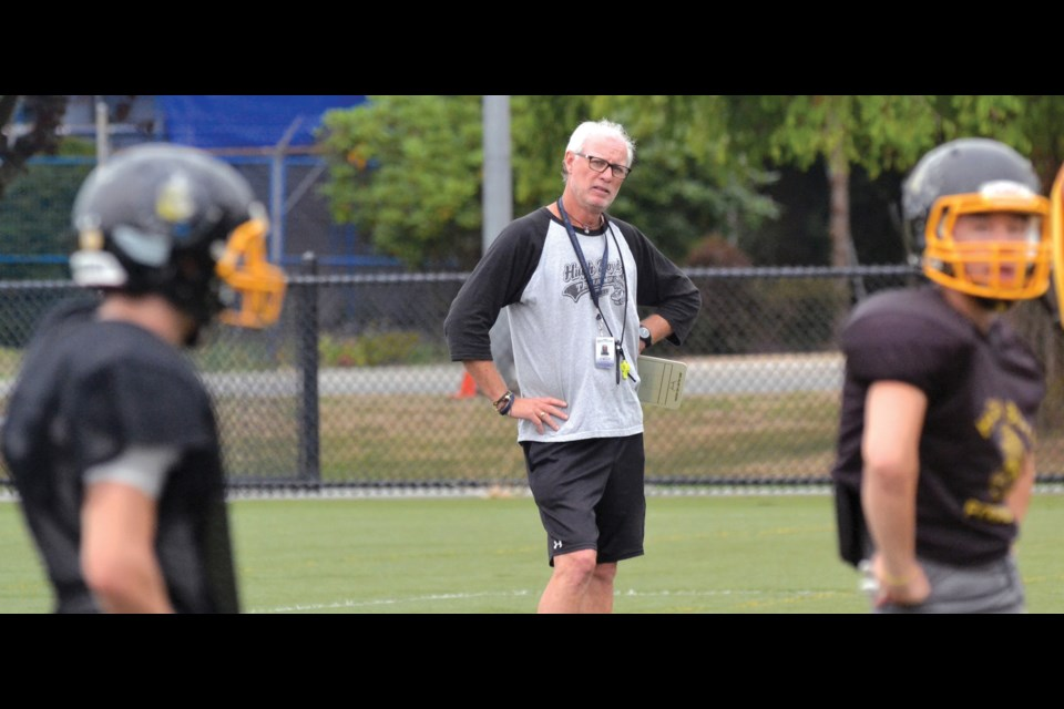 Bill Haddow's final year of teaching at Hugh Boyd Secondary will include his 43rd season coaching high school football. He plans on taking a TOC position closer to his White Rock home next year and spend more time with his growing craft beer business.