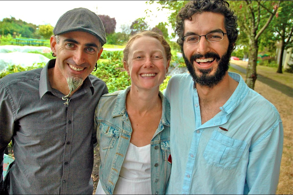 Gray Oron, Ilana Labow and Marc Schutzbank's passion for gardening led to the creation of Fresh Roots, an organization that works with schools to transform urban spaces into community gardens for learning.