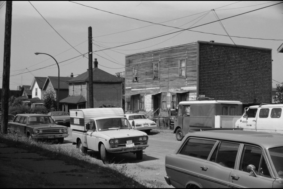 This photo of the 1800 block of Triumph Street was taken as part of the city's 1978 heritage survey. The City of Vancouver Archives is in the process of digitizing 6,900 images from the 1978 and 1986 heritage surveys and putting them online. Photo City of Vancouver Archives CVA 786-50-17