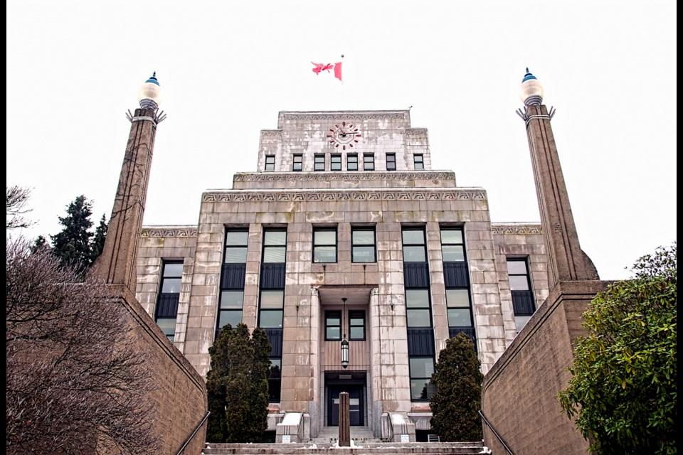 Vancouver city hall. Photo Chung Chow