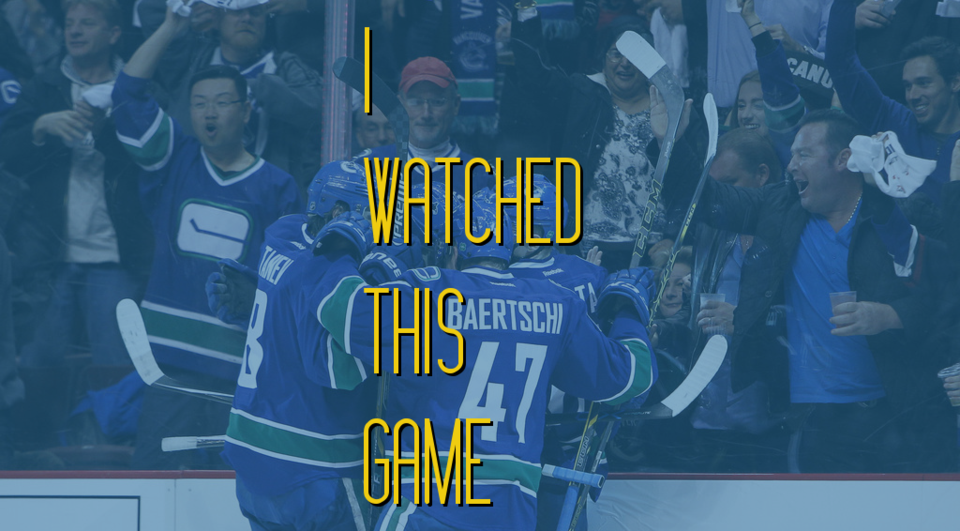 I Watched This Game - IWTG Banner