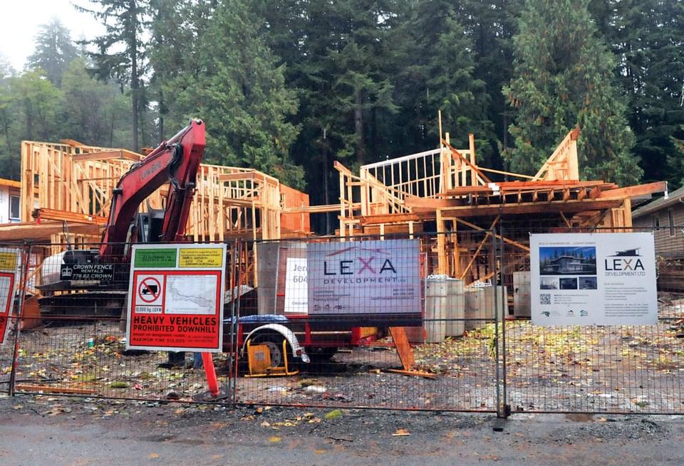 Glenmore construction site