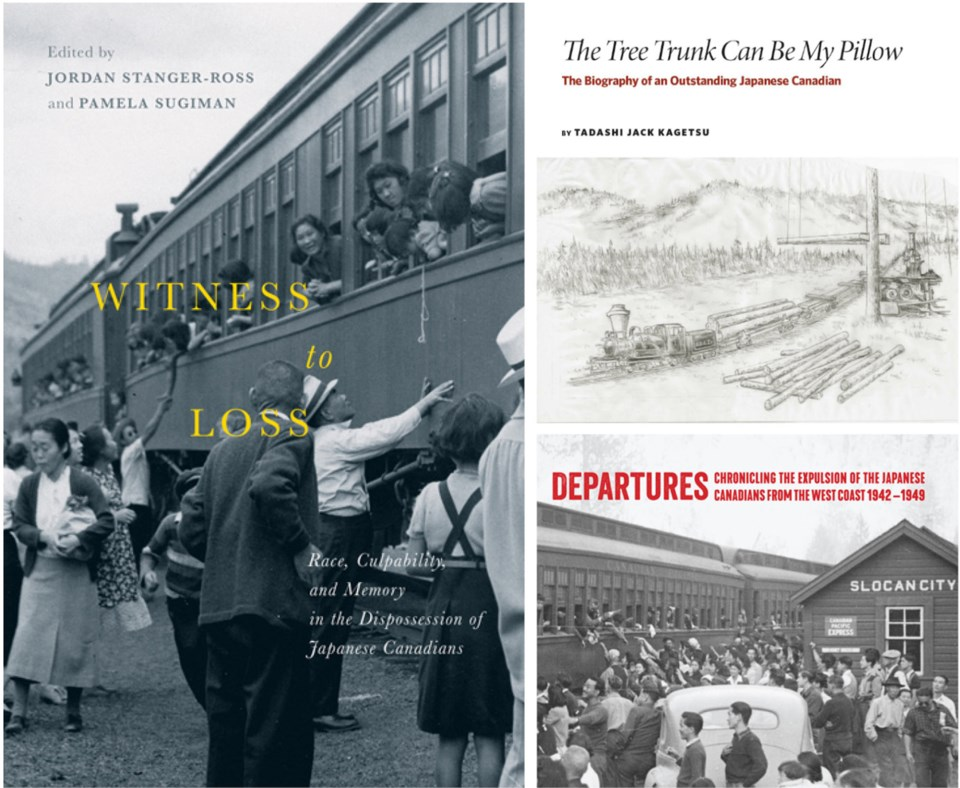 Japanese Canadian internment, history, book covers