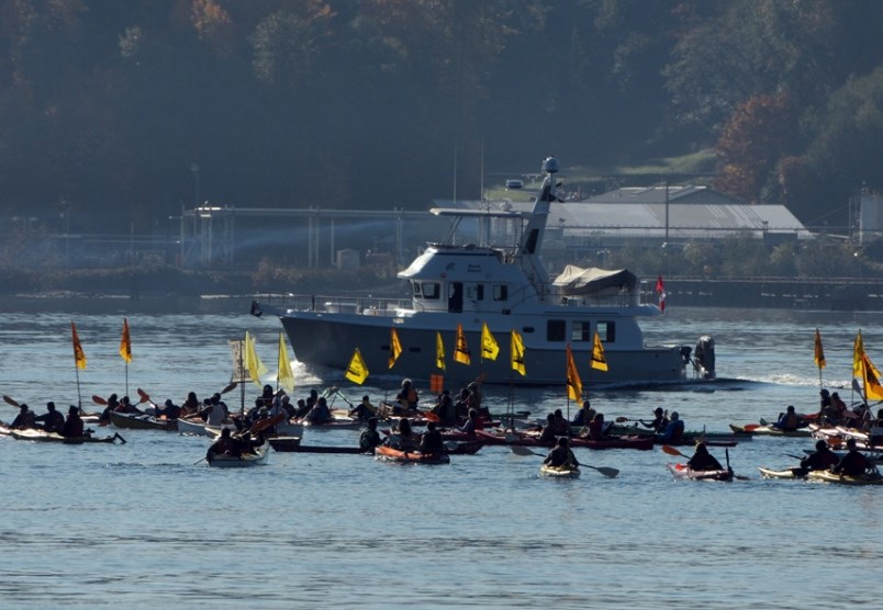 protest flotilla