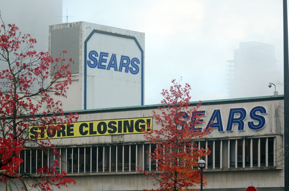 Sears, Metrotown