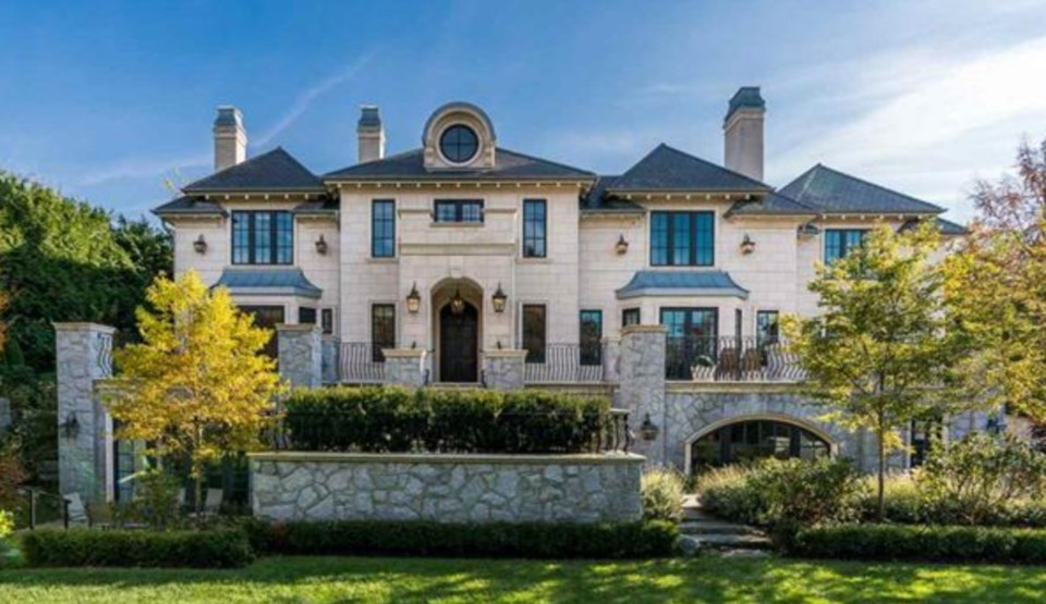 This incredible mansion in Shaughnessy was completed in 2016 and was listed November 14, 2017 for $3