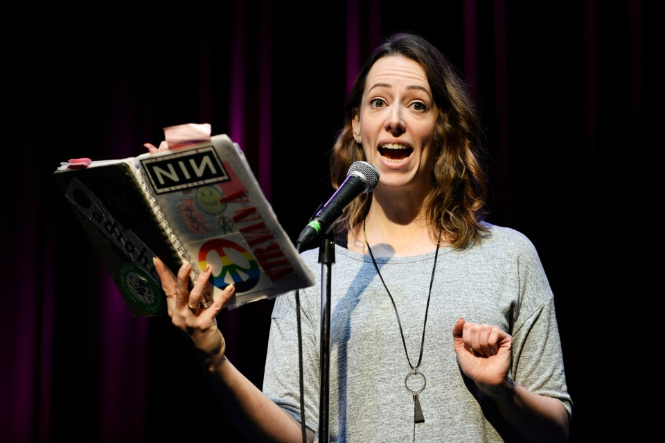 Vancouver writer and performer Sara Bynoe hosts the latest instalment of Teen Angst Night, Jan. 12 a