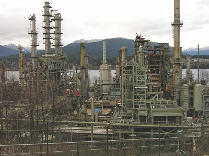 Burnaby's Parkland Fuel refinery is one of only two refineries left in B.C.
