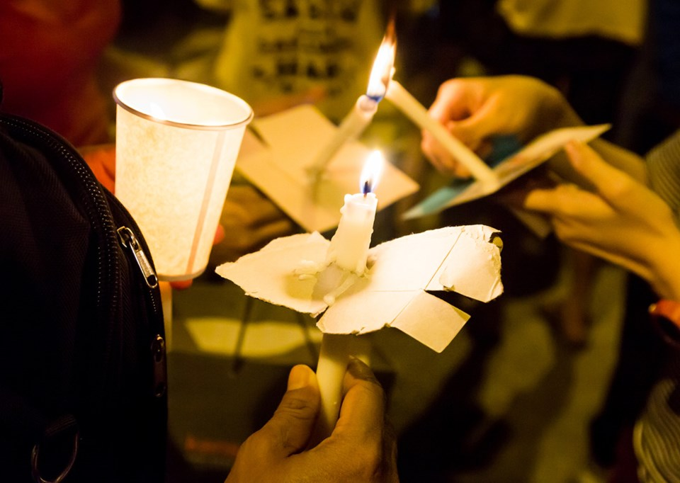 Candlelight vigil planned for Vancouver on January 15.
