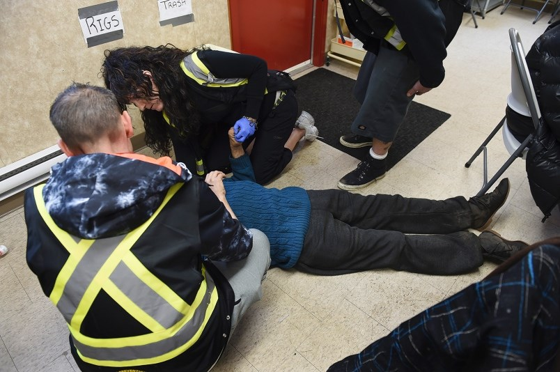 City council heard Wednesday that 335 people are suspected of dying of a drug overdose in 2017. More than 80 per cent were connected to fentanyl, according to city officials. Photo Dan Toulgoet