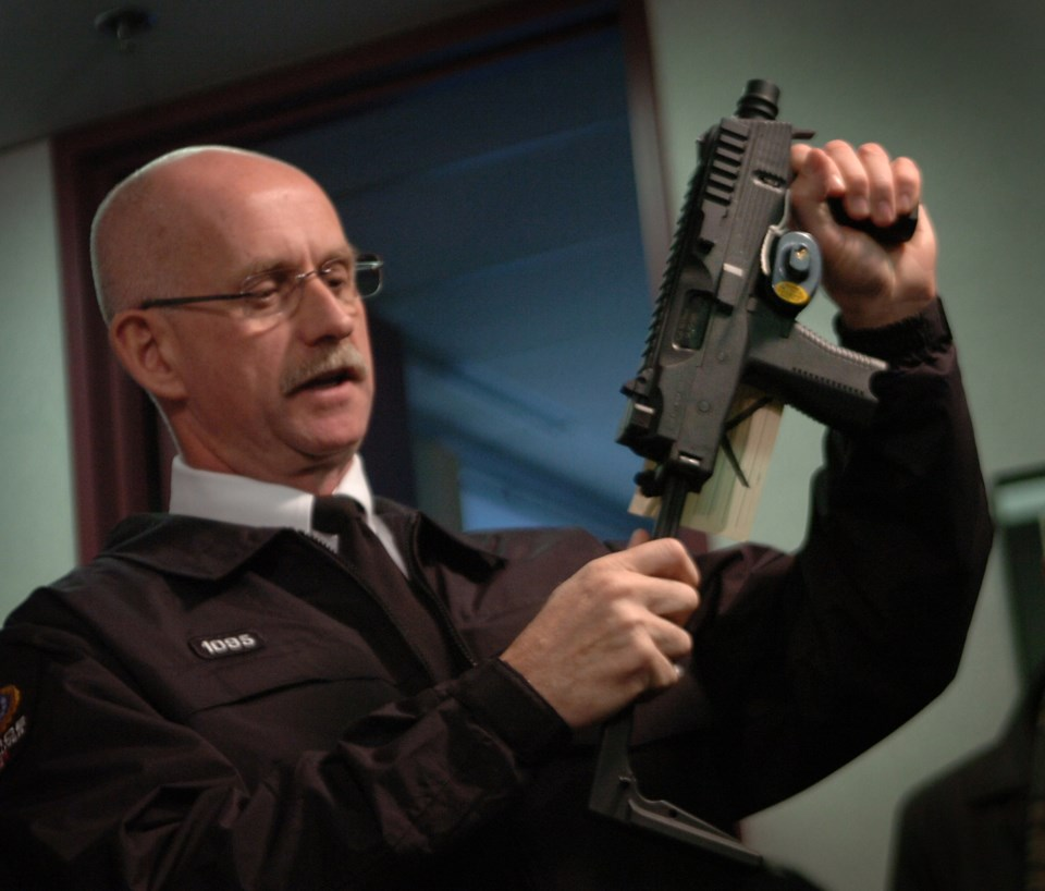 VPD Insp. Dean Robinson says local law enforcement has its hands full tracking illegal guns like thi