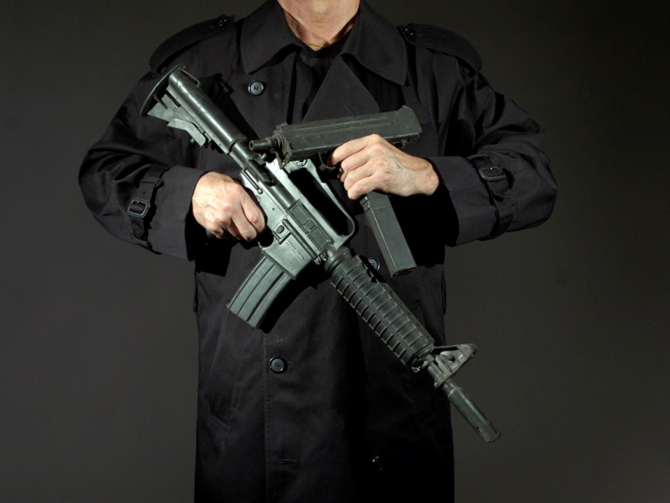 A Magnum is old news compared to the arsenal of high-powered rifles, shotguns, military assault rifl
