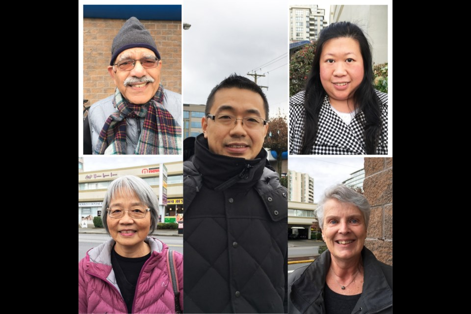 Richmondites share their opinion on whether a ban on foreign real estate ownership should be implemented. Daisy Xiong photo