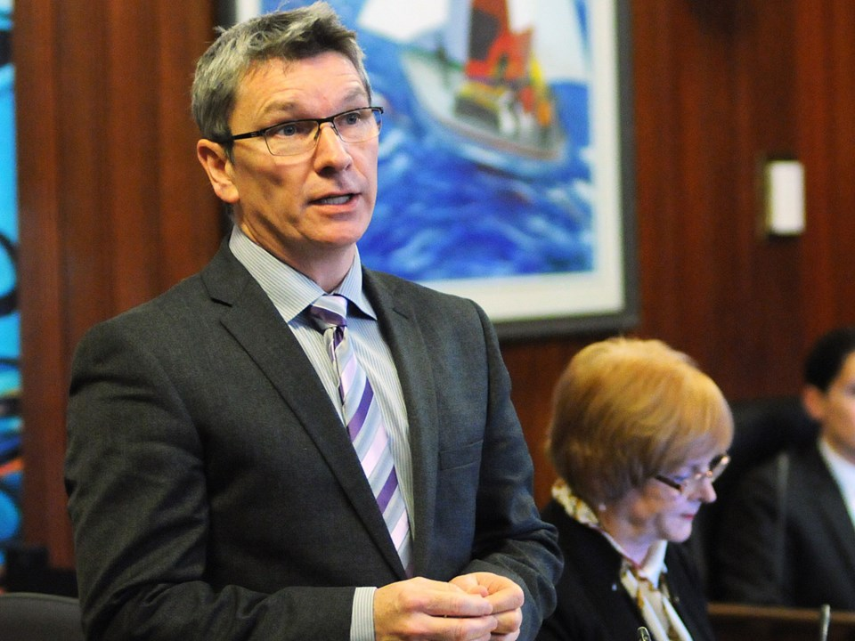 On Wednesday, NPA Coun. George Affleck introduced a motion aimed at small business tax relief.