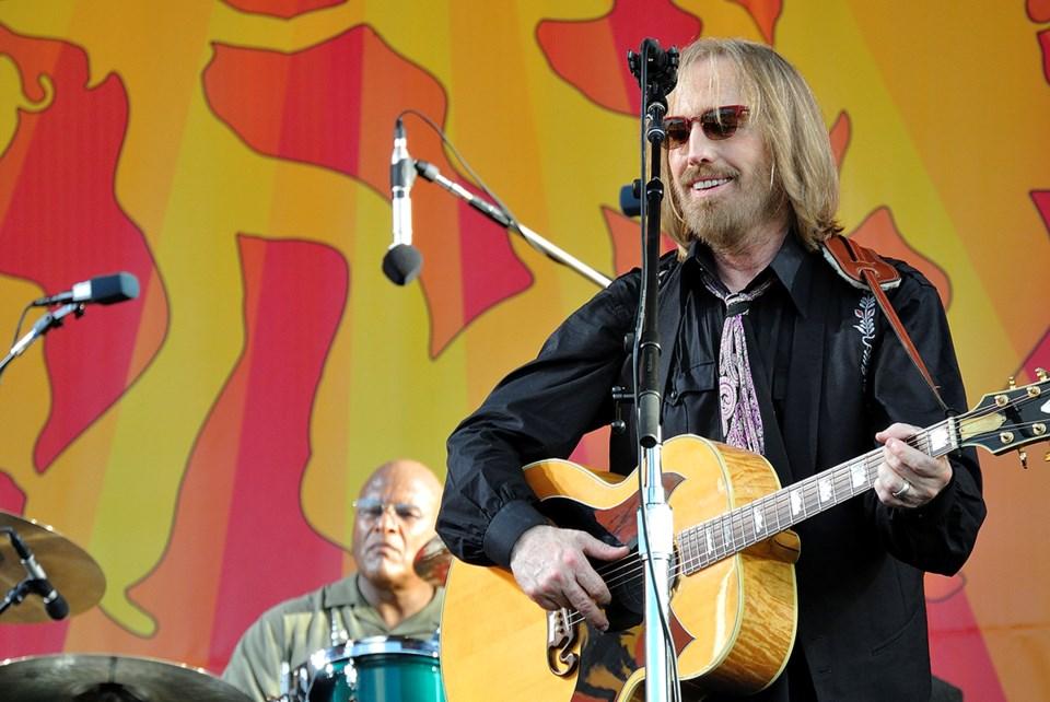Tom Petty and Steve Ferrone 2012