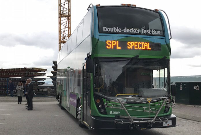 32 double decker buses to join TransLink fleet by 2019. Photo courtesy TransLink
