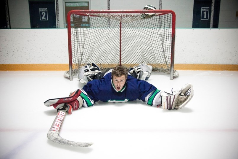 Grant Lawrence will be stacking the pads for a team of Canadian musicians taking on ex-NHL players a