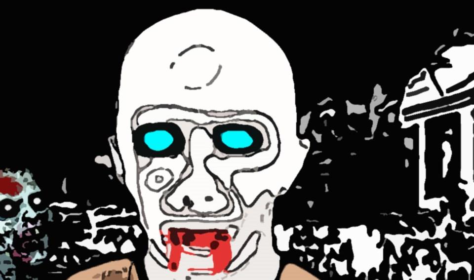 free zombie web fiction novels